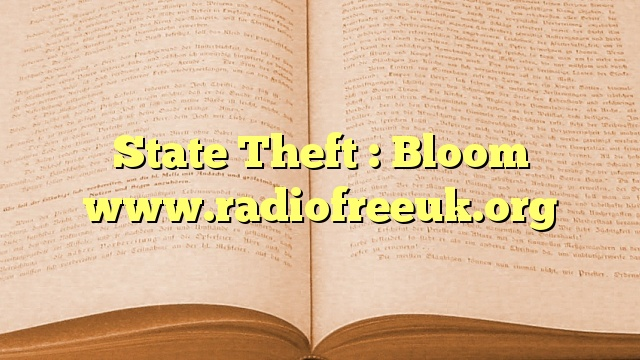 State Theft : Bloom